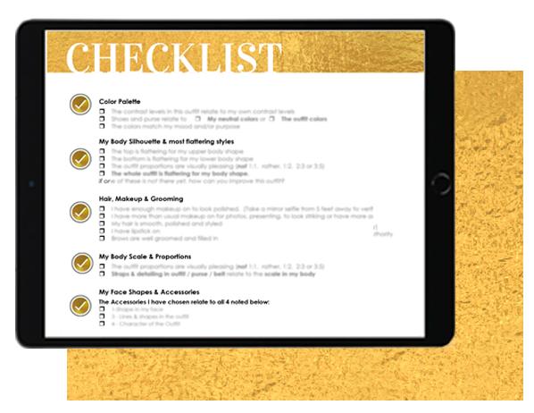checklist gold